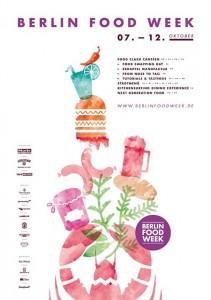 Berlin Food Week Plakat