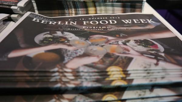 Berlin Food Week 2014