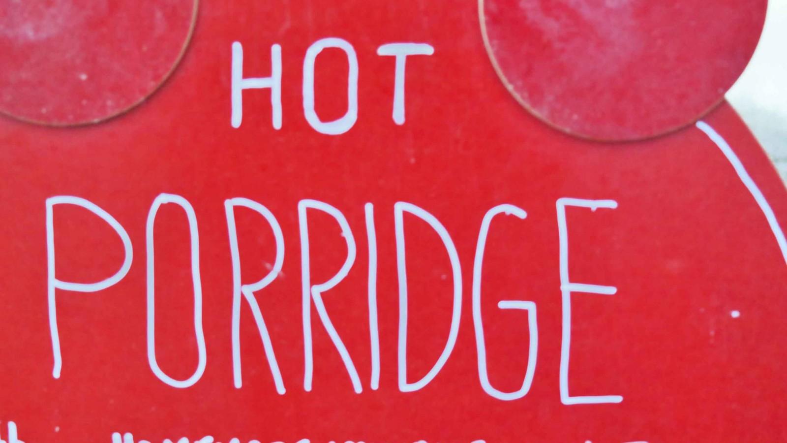 porridge der neue fr hst ckstrend social media dinner. Black Bedroom Furniture Sets. Home Design Ideas