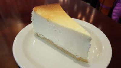 Bei Junior`s Cheesecake haben wir den Cheesecake No.1 probiert.