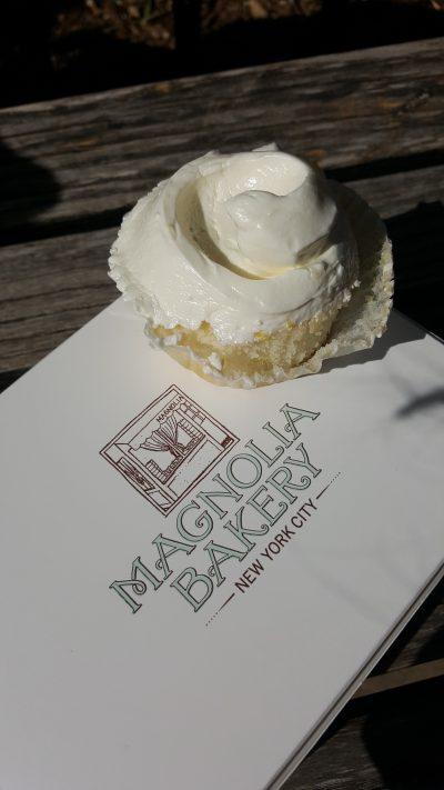 Bei der, aus Sex and the City berühmten, Magnolia Bakery gab es einen Lemon-Cupcake und...